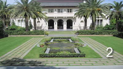 Coral Gables Classic Water Garden
